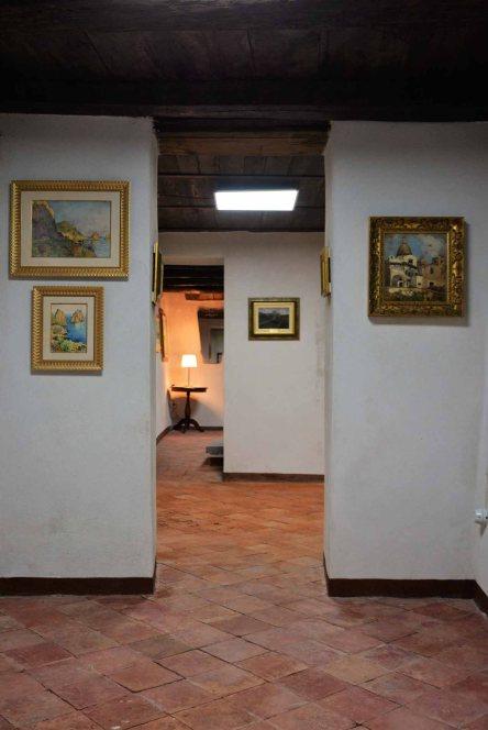 Palazzo Aiello 1786 - Piano terra, Saletta Capri