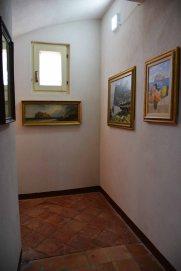 Palazzo Aiello 1786 - Primo piano, Saletta Castello Aragonese