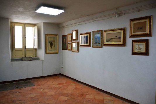 Palazzo Aiello 1786 - Primo piano, Sala Scuola Napoletana e Costaioli
