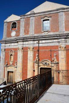 Palazzo Aiello 1786 - Facciata della Chiesa Madre dell'Assunta