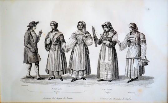 Costumi del Regno di Napoli, 1834 – 1837