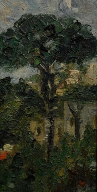 Paesaggio scomposto, 1921