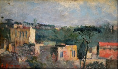 Paesaggio partenopeo, 1927