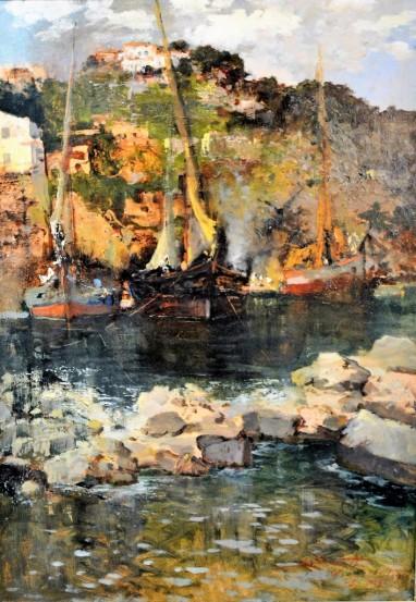 L'attesa – Costiera Amalfitana, 1943