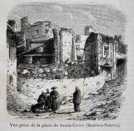 Veduta della piazza di Santa Croce (Marsico Nuovo)