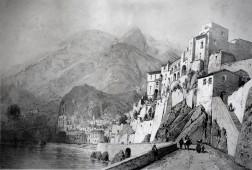 Amalfi, 1858 (Imprimerie Lemercier Paris)
