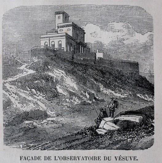 Fossa del Faraone ed Osservatorio del Vesuvio