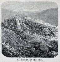 Saponara (oggi Grumento Nova) nel Maggio 1858