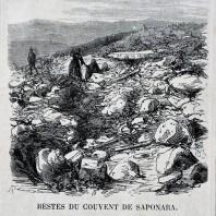 Resti del convento di Saponara (oggi Grumento Nova)