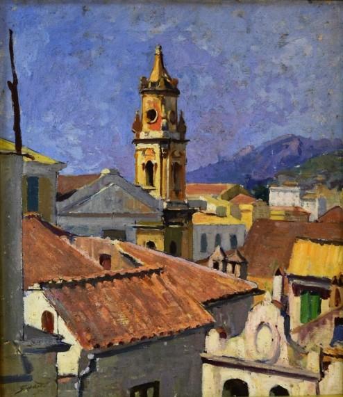 La chiesa dell'Annunziata, 1950