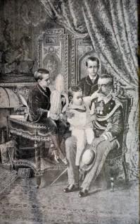 Il Principe Amedeo ed i suoi figli