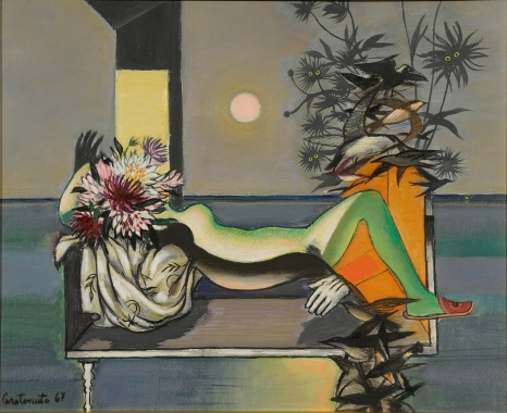 Paesaggio di donna, 1967
