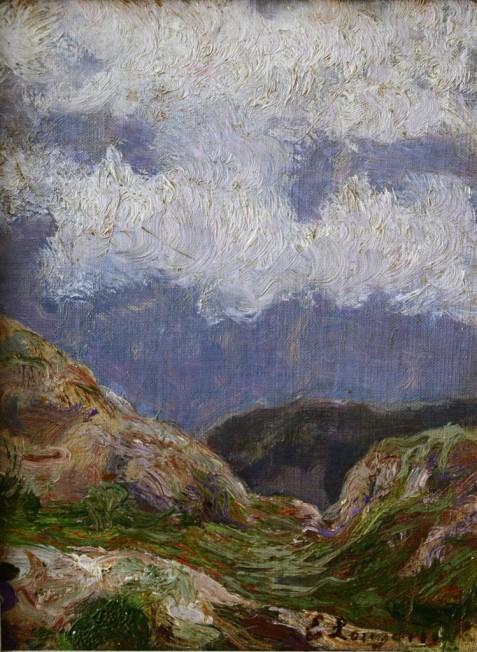 Paesaggio di montagna, 1910