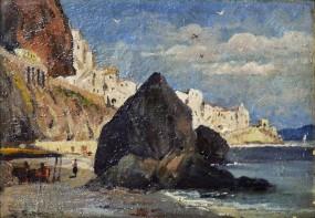 Amalfi dalla spiaggia dei Cappuccini