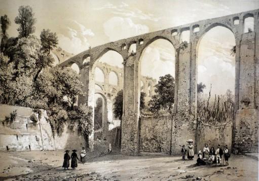 Ponte del Diavolo - Salerno (Imprimerie Lemercier Paris)