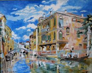 Canale a Venezia, 1934