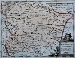 Terra di Basilicata carta n. 445 (Venezia 1789)
