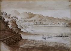 Veduta di Salerno, 1829