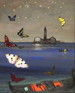Notturno a Venezia. 1971