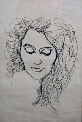 Ritratto di donna, 1966