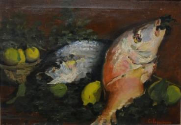 Natura morta, 1955