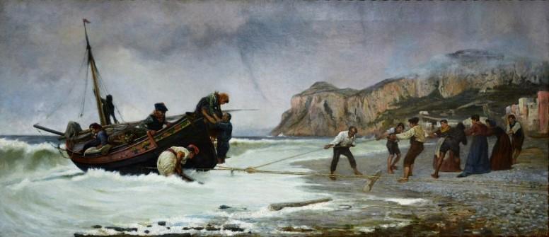 Il rientro Capri, 1876