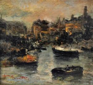 Prime luci nel porto, 1936