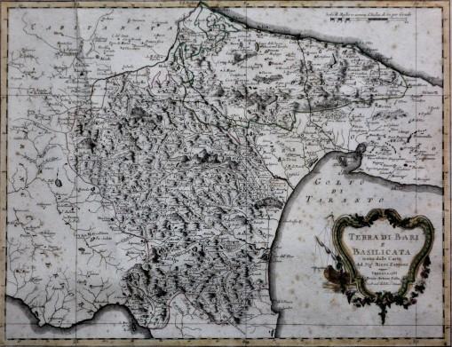 Terra di Bari e Basilicata (Venezia 1783)