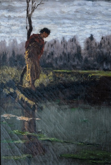 Allo stagno, Incertezza, 1882