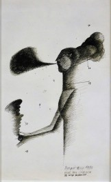 Etude pour l'oiseleuye, 1978