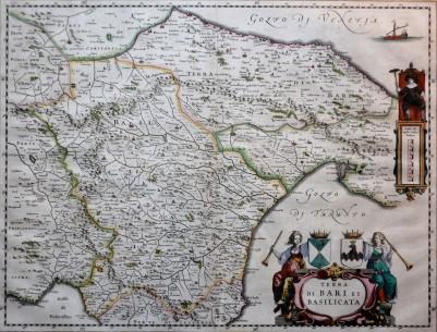 Terra di Bari e Basilicata (Amsterdam 1640)