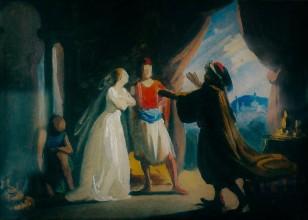 Haydèe, figlia del Pascià di Giannina, 1844