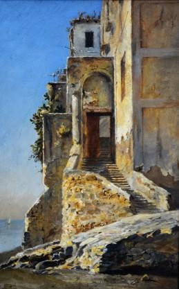Scorcio di abitazione ad Ischia, 1877