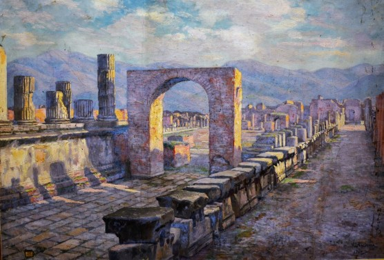 Effetti di luci a Pompei, 1929
