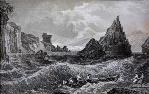 Burrasca ai due fratelli – Vietri su Mare