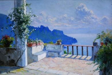 Da villa Rufolo – Ravello, 1906