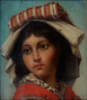 Ritratto di bimba, 1870