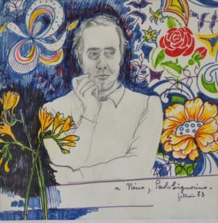 Ritratto di Nino Garbè, 1973