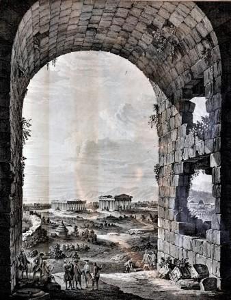 Veduta di Paestum, 1768