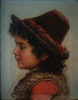 Ritratto di bimbo, 1870