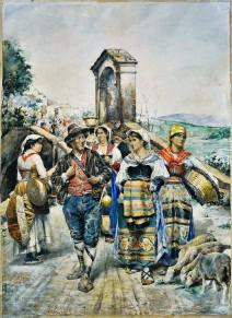 Scena campestre, 1874
