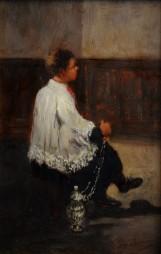 Prima della messa, 1878