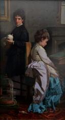 La morte del cardellino L'enigma, 1872