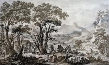 Una valle della Basilicata (Parigi 1820)