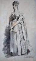 Figura di donna, 1884