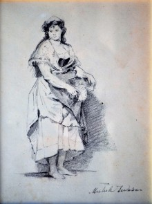 Donna lucana, 1884