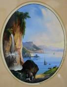 Vietri e Salerno dalla nuova strada di Amalfi, 1861