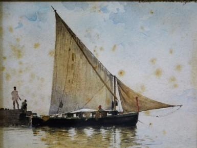 La vela, 1888