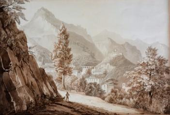Vista di Baronissi da Antessano