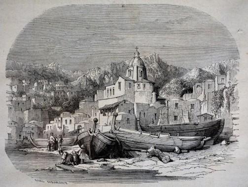 Positano, nel golfo di Amalfi